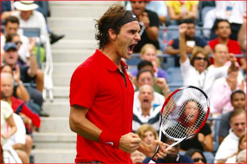 Federer US Open 2008