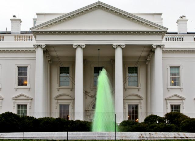 White House Green Fountain