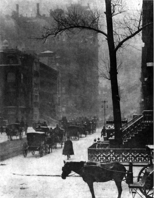 Stieglitz The Street - Design for a Poster